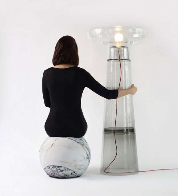 Transparent Tower Lamps