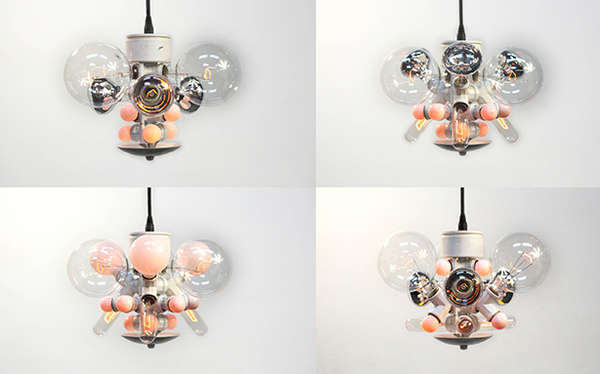 Reconfigurable Insect-Like Lighting