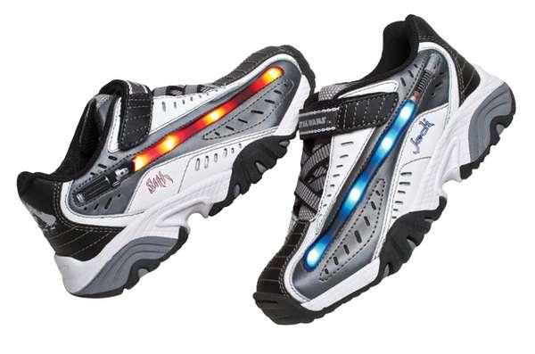 Lightsaber-Inspired Sneakers
