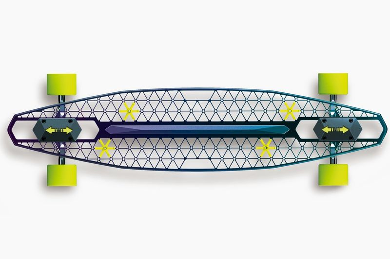 Eco Magnesium Alloy Skateboards