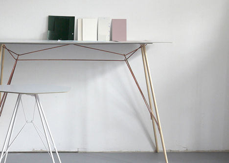 Slender Hovering Tables