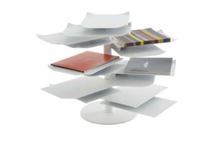 Many-Leafed Magazine Racks