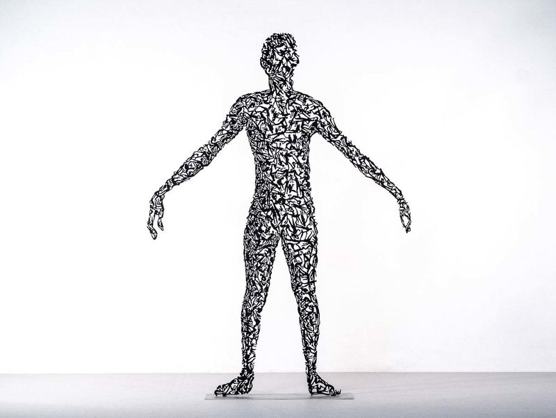 Lace-Like Metal Sculptures : metal sculptures