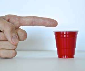 Miniature Plastic Party Cups