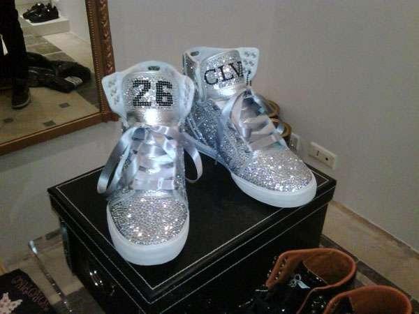 Customized Crystal Kicks