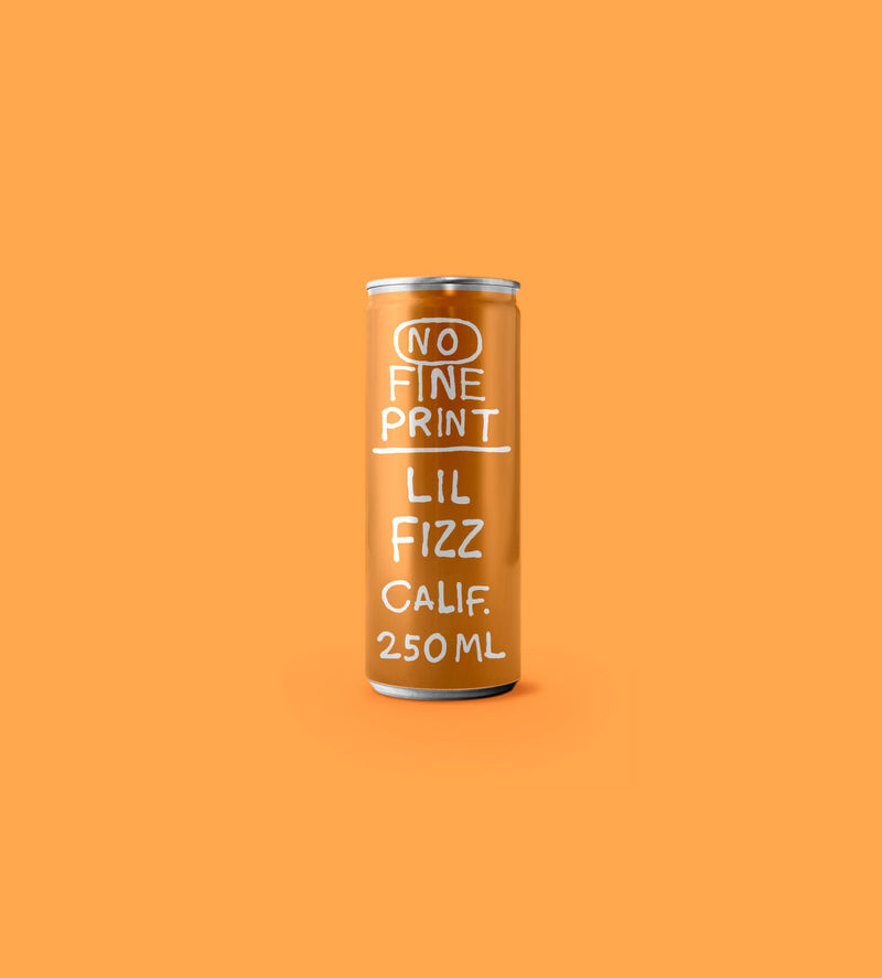 Effervescent Canned White Wines