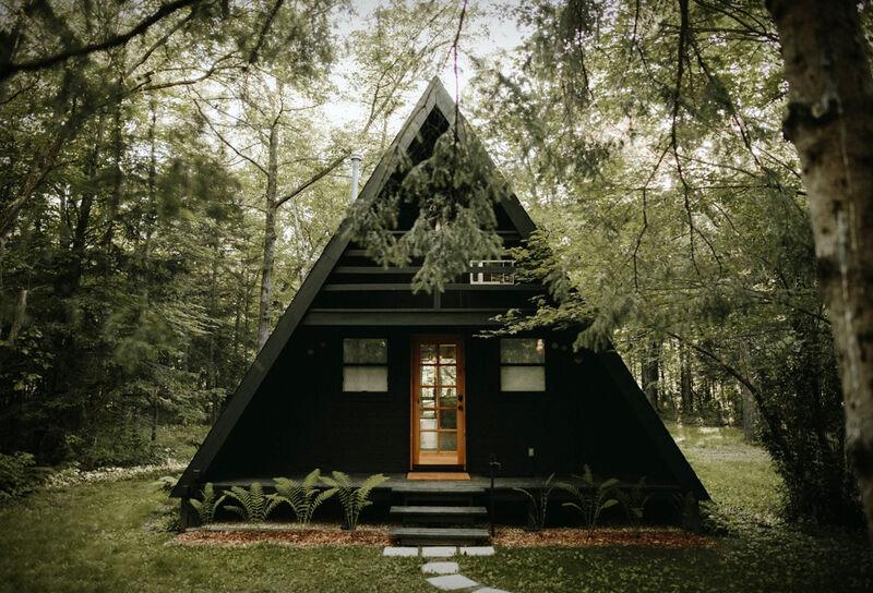 Restored Scandinavian-Inspired Cabins