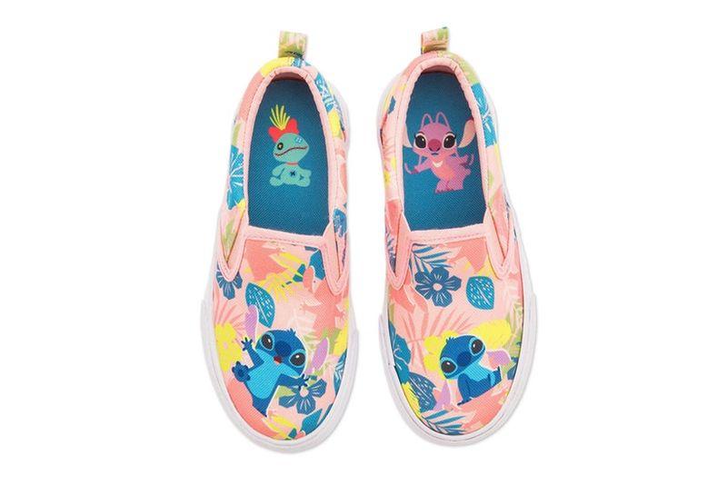 Hawaiian Cartoon Youth Shoes