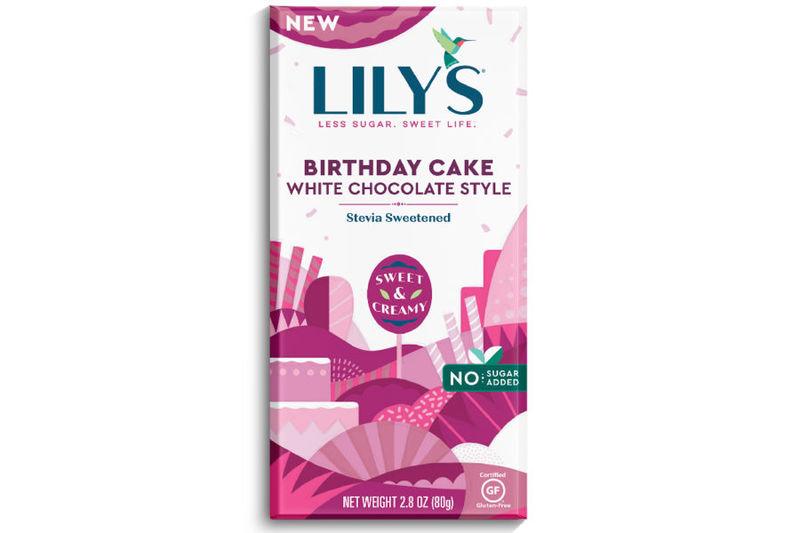 Low-Sugar Birthday Cake Bars