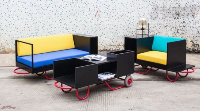 Transforming Portable Furniture