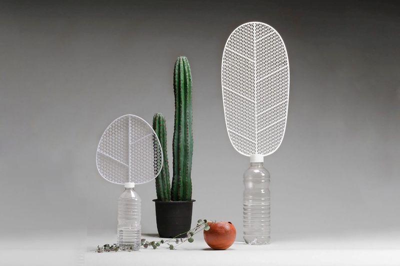 Leaf-Like Analog Dehumidifiers