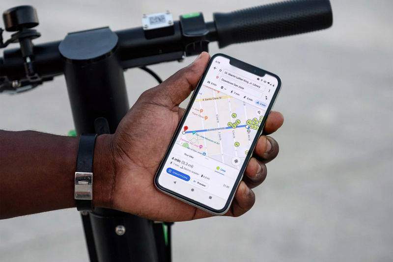 E-Scooter Location Tracking
