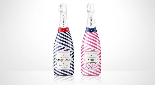 Summery Champagne Branding