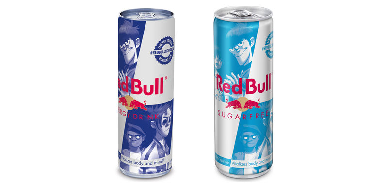 Collaborative Energy Drink Cans