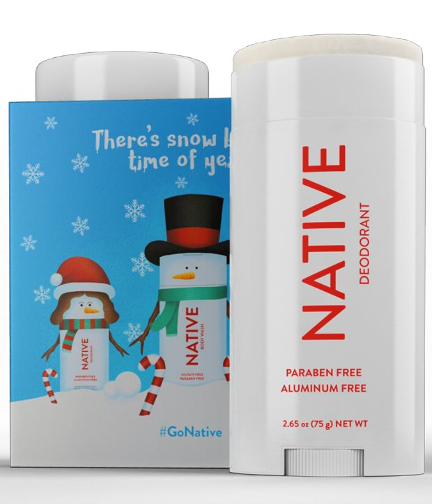 Festively Scented Deodorants