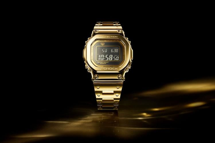 Opulent Gold Watch Expansions