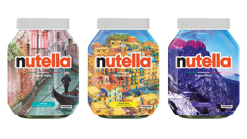 Travel-Themed Spread Packaging