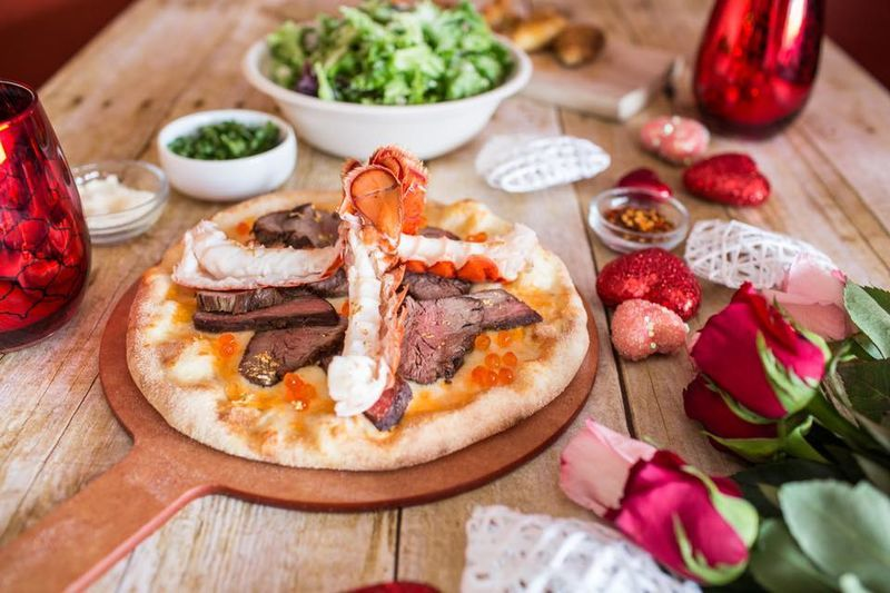 Exclusive Surf & Turf Pizzas