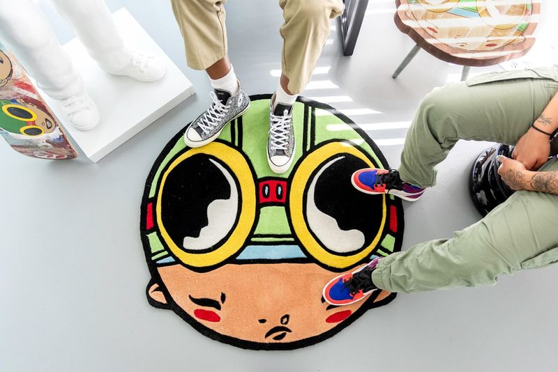 Character-Themed Limited Edition Rugs