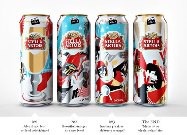 Cinematic Beer Packaging