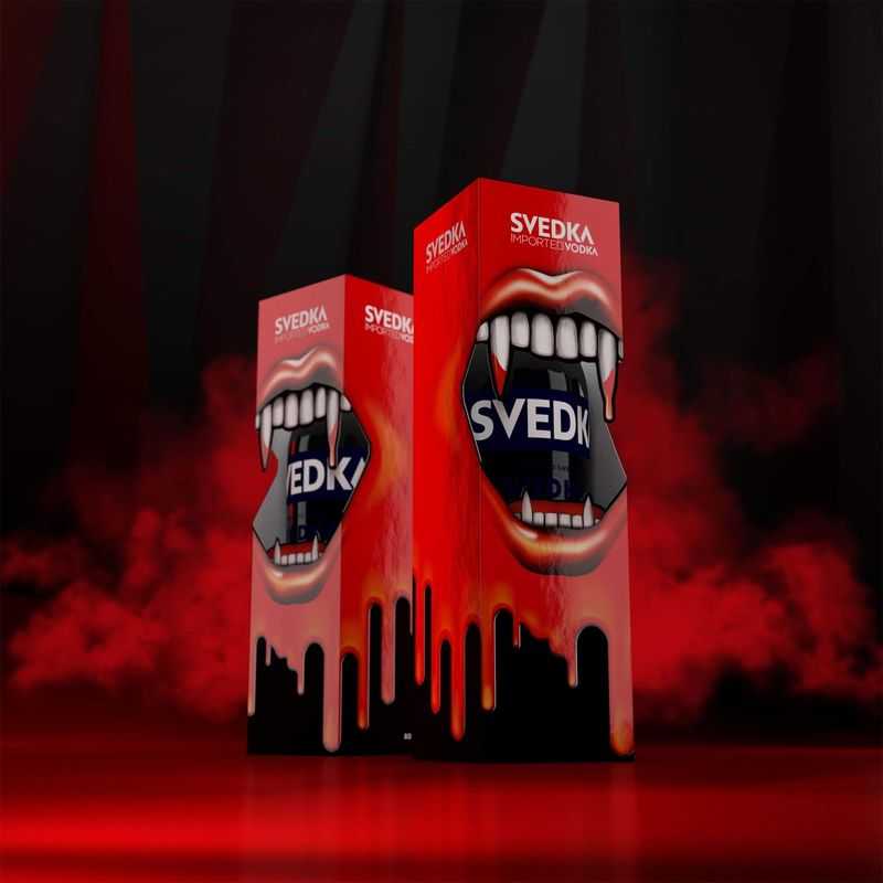 Vampiric Vodka Packaging