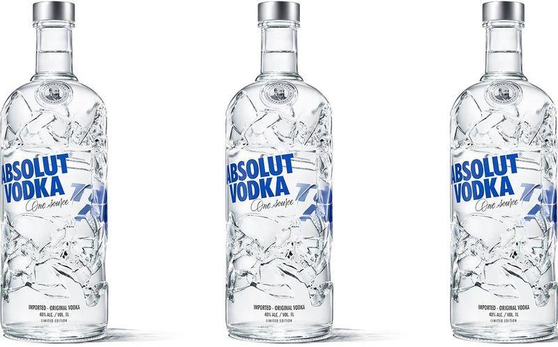 Glass Shard Vodka Packaging