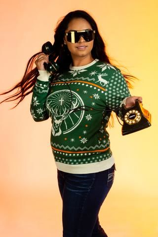 Alcohol-Branded Festive Sweaters