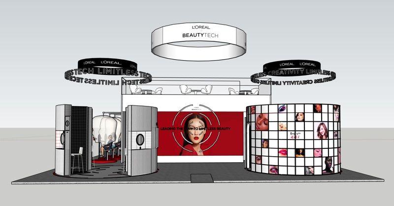Beauty-Tech Showcase Exhibits