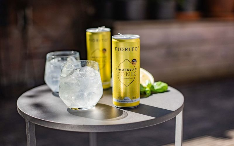 Ready-to-Drink Limoncello Cocktails