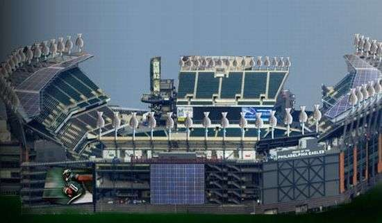 Green Football Stadiums Lincoln Financial Field
