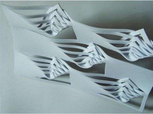 Papercut Partitions