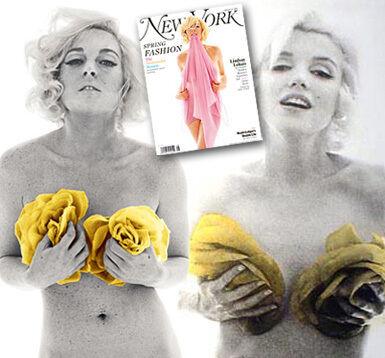 Lohan Bares All To Be Monroe