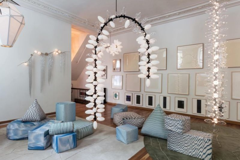 Celestial-Inspired Chandeliers