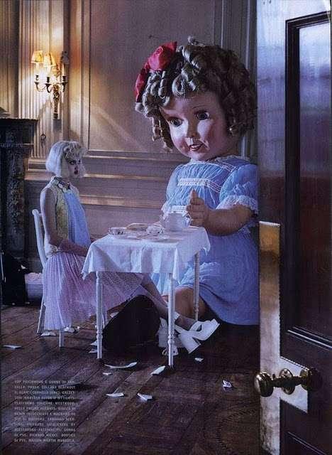 Creepy Doll Fashion Editorials