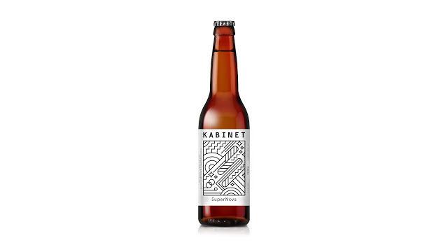 Line Art Beer Labels