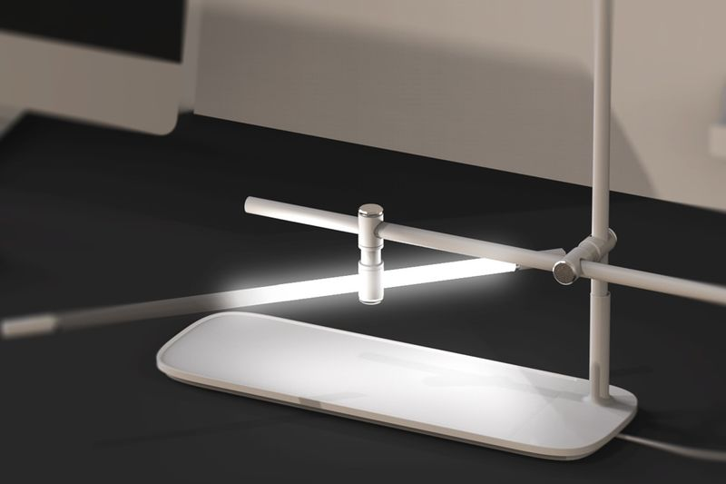 Customizable Wireless Charger Lamps