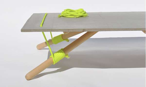 Drawstring Side Tables