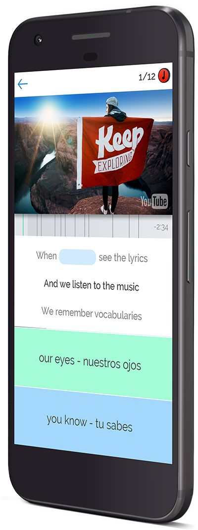 Lyric-Based Language Learning
