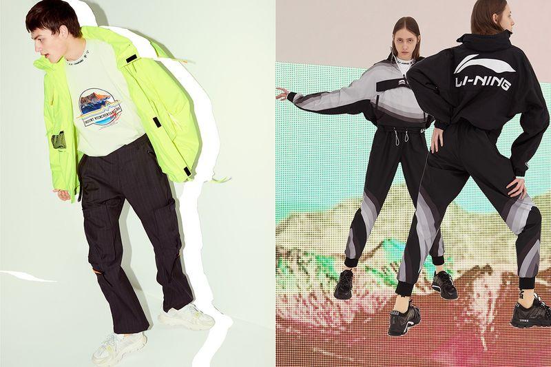 China-Inspired Dynamic Fashion Designs