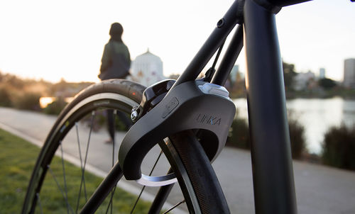 Auto-Unlocking Bike Locks