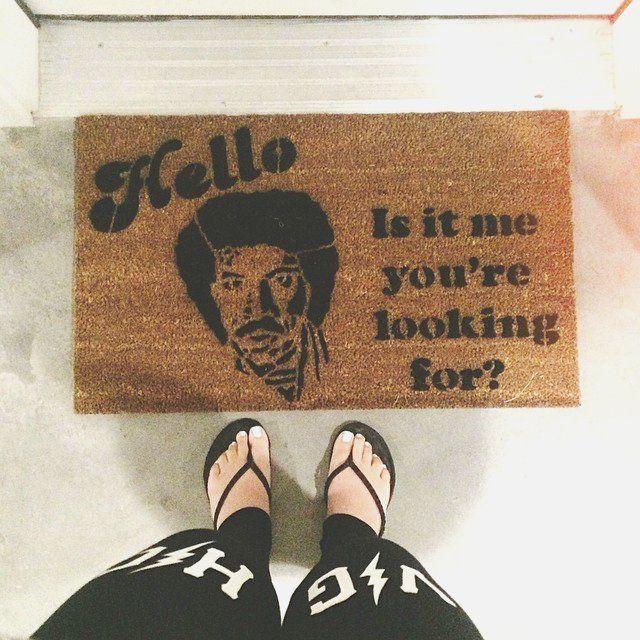 Nostalgic Lyrical Doormats