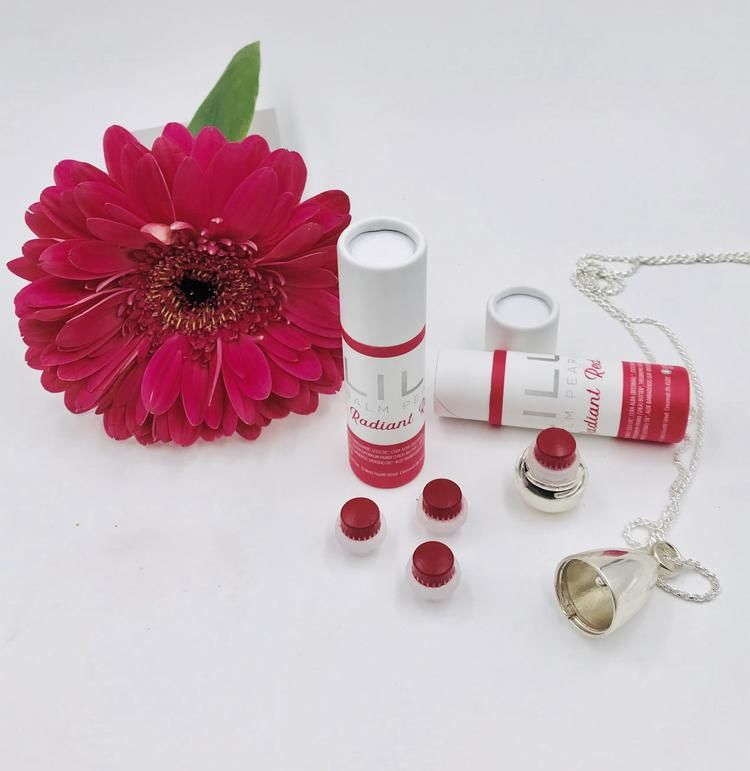 Elegant Lip Balm Jewelry