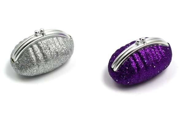 Sparkly Lip Balm Purses