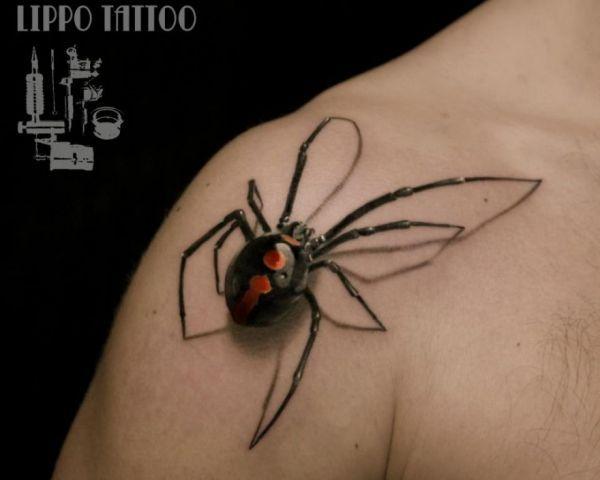 Deceptive 3d Tattoos Lippo Tattoo