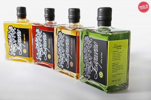 Playful Liqueur Branding