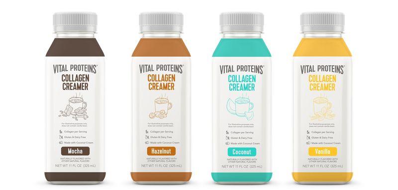 Non-Dairy Collagen Creamers