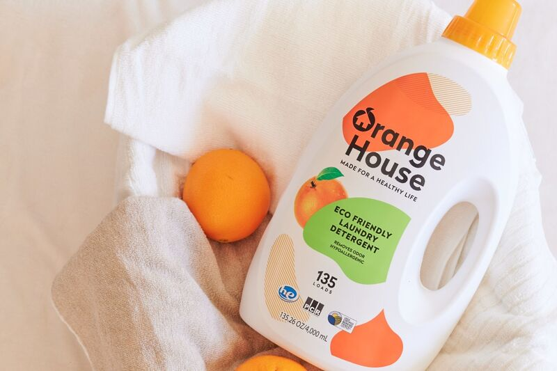 Orange-Powered Laundry Detergents