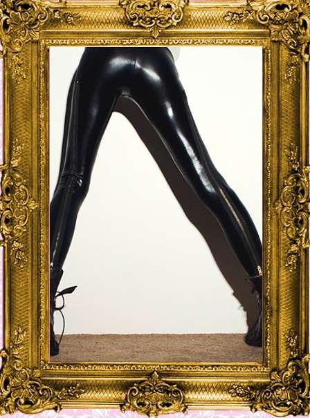 Liquid Zipper Leggings