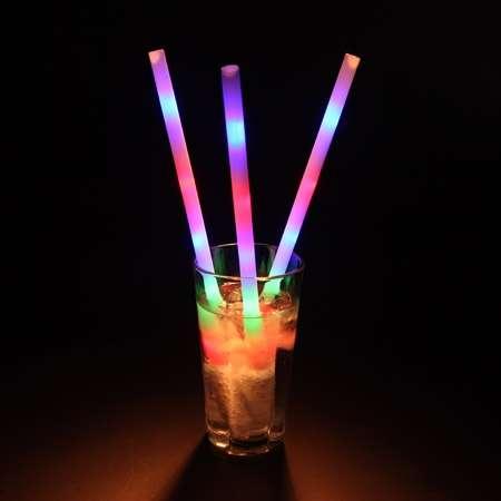 Glowing Straws