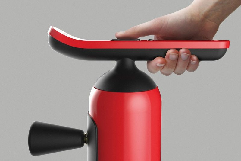 User-Guiding Fire Extinguishers